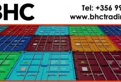 20 and 40 Ft Containers UK Container Availability