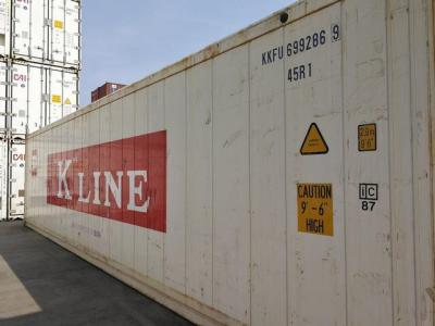 40'HC Reefer Reefer Containers Available Throughout Europe 40ft Reefer Containers
